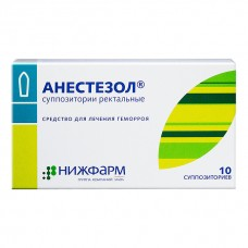 Анестезол суппозитории ректальные 10 шт