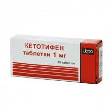 Кетотифен  таб. 1мг №30