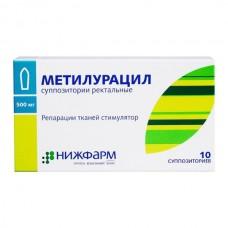 Метилурацил свечи  супп. рект. 500мг №10