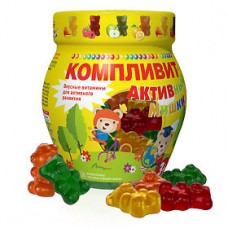 Компливит Активные Мишки паст. жев. 4,5г №30