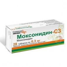 Моксонидин таб. п/о 0,3мг №28