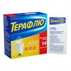 Терафлю от гриппа и простуды Лимон №14