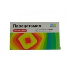 Парацетамол таб.0.5 N20