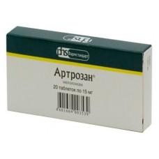 Артрозан 0,015 №20 табл