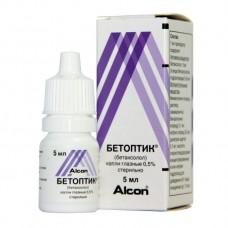 Бетоптик  глаз. капли фл. 0,5% 5мл